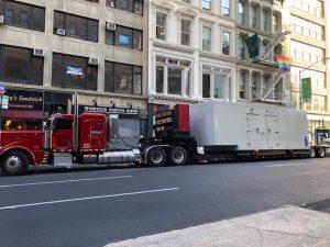 Pedowitz Machinery Movers NYC Alternate Power Generator 1