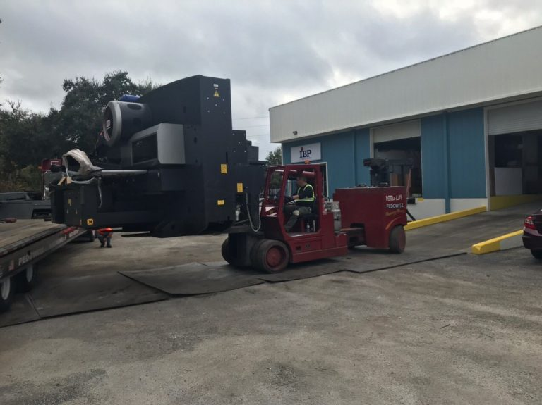 MOVING AN AMADA TURRET PUNCH PRESS MIAMI FL