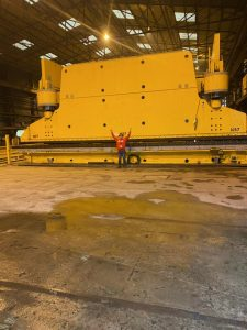 2000 Ton Press Brake Lafayette Louisiana