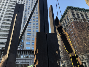 Pedowitz Machinery Movers Sculpture Rigging NYC 26 Federal Plaza