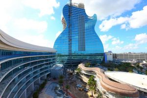 Pedowitz Machinery Movers Seminole Hard Rock Guitar Hotel Miami 1