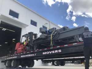 CNC Machine Transportation Miami FL e