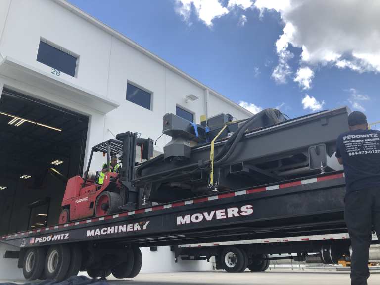 CNC MACHINE TRANSPORTATION MIAMI