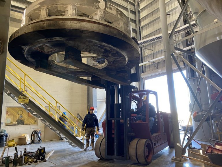 REPLACING MILL BASE LAROSE, LA