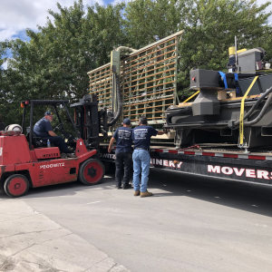 Machinery Movers Miami Trucking Rigging Company Pompano Beach to Orlando West Palm Jacksonville and Tampa Florida