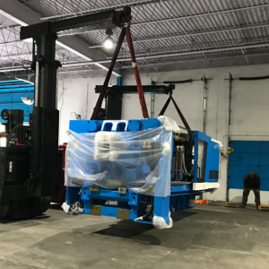 Pedowitz Machinery Movers Intermodal Shipping Services Newark NJ