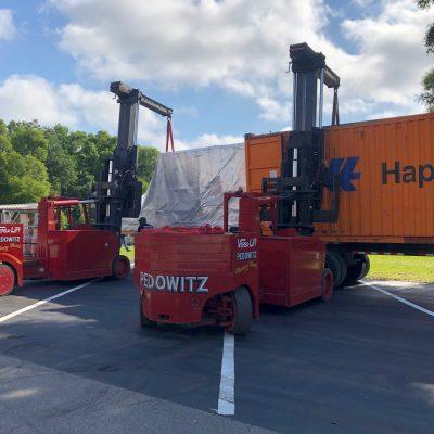 Pedowitz Machinery Movers Trucking Rigging Miami Fl u